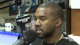 Kanye West ▪ Interview at Breakfast Club Power ▪ 105.1 (Full Interview)