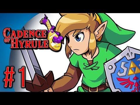 Cadence of Hyrule #1 - Crypt of the Necrodancer x Legend of Zelda!
