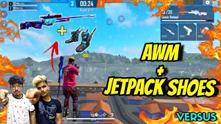 FREE FIRE || ONLY AWM + JETPAC…