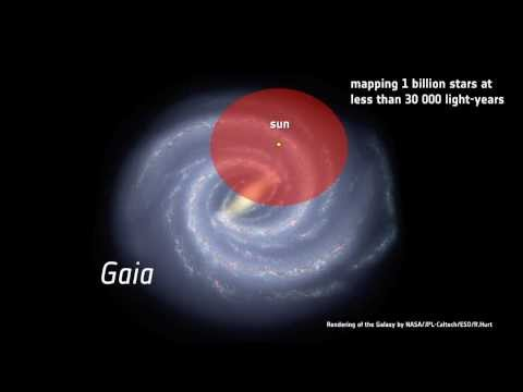 Gaia... mapping one billion stars