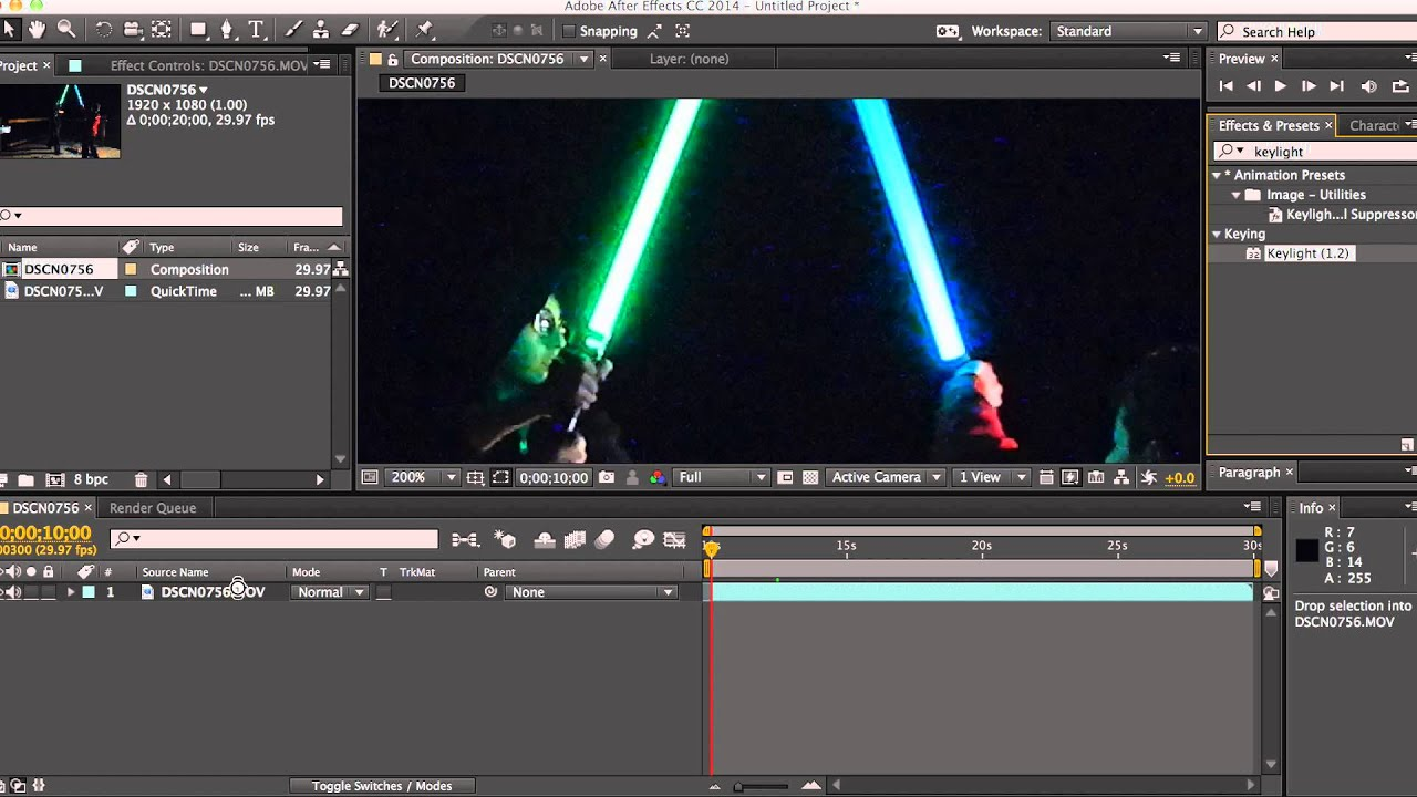 After effects lightsaber tutorial youtube after effects lightsaber tutorial baditri Images