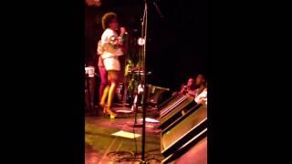 """Solange Knowles """"Crush"""" Live @ Le Nouveau Casinon, Paris  [2013-01-18]"""