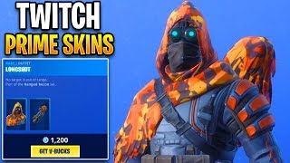 Twitch Prime Skins added to shop!? Fortnite ITEM SHOP (December 15) Longshot skin in item shop!!