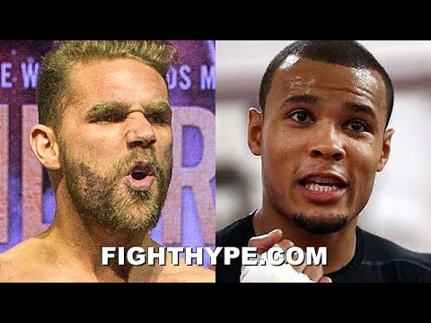 "BILLY JOE SAUNDERS TRADES WORDS WITH ""BUM"" CHRIS EUBANK JR. OVER FAILED DRUG TEST AND LOSS OF TITLE"