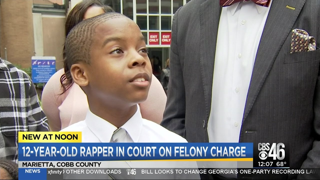 12 year old boy in court on felony charges for selling CD's at a mall