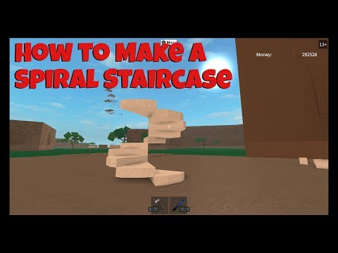Lumber Tycoon 2How to Build Spiral Staircase