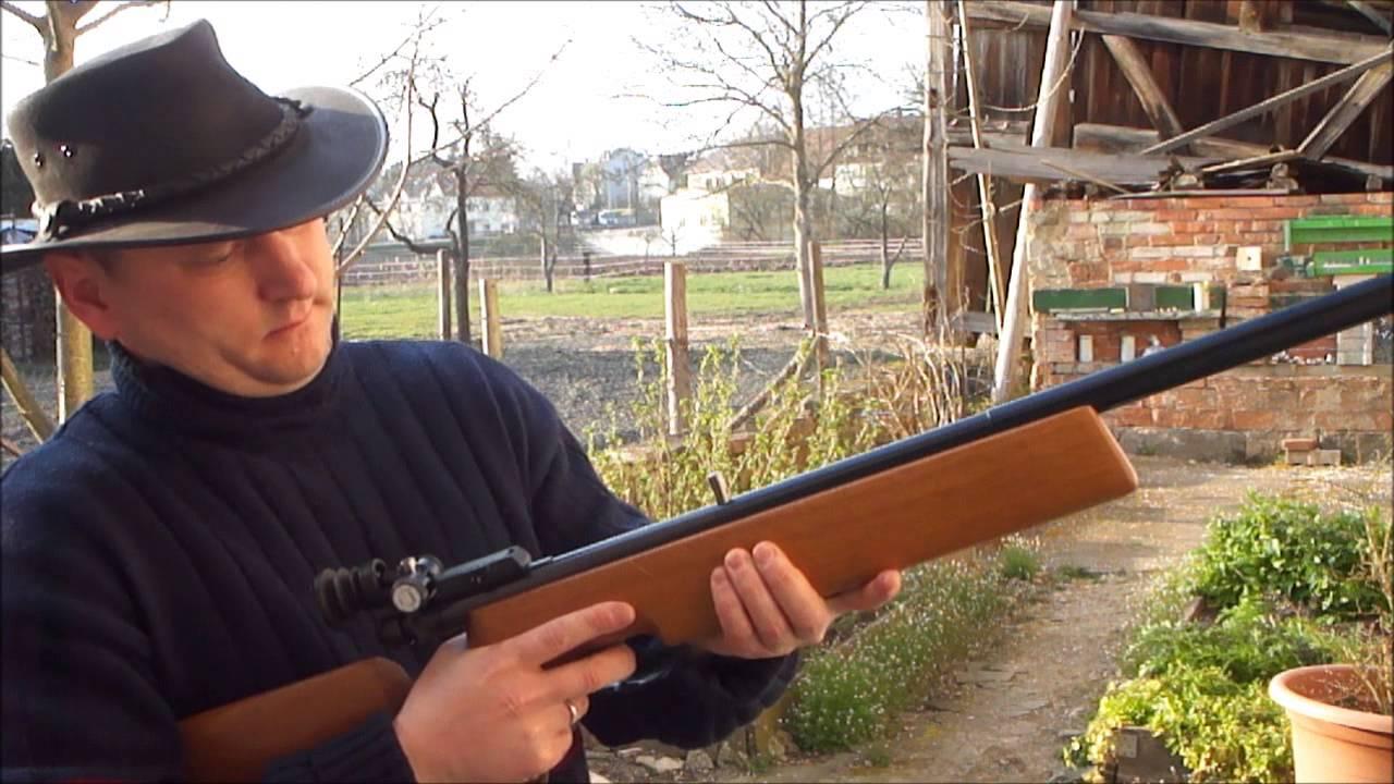 CO2 Gewehr Haemmerli Match - Plinking - YouTube