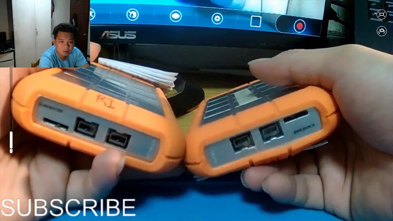 Lacie Rugged USB 3.0 2TB Review   Lacie 2tb Rugged Thunderbolt/usb 3.0 Hard  Drive