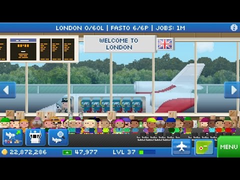 Pocket Planes: AirTravel   Seattle-Tokyo! (Europe Link Included)