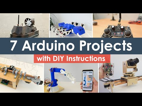 7 Pro Arduino Projects With DIY Instructions
