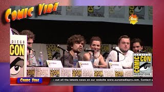 Game of Thrones Panel (Full) | San Diego Comic Con - Season 2 & 3