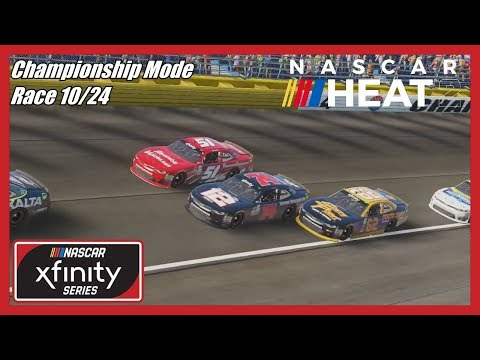 (Don't Put Your Nose There!) NASCAR Heat 2 Championship Mode (Race 10/24) Xfinity At Charlotte