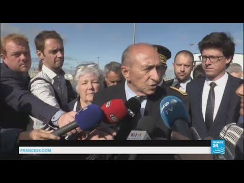 Calais migrant crisis: Interior minister Gérard Collomb