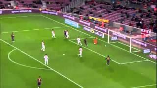 FC Barcelona vs SD Huesca [8-1][Copa Del Rey][16-12-2014] All Goals