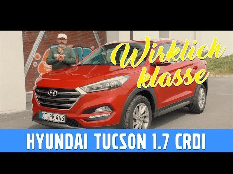 2017 Hyundai Tucson 1.7 CRDi -  Test, Review und Fahrbericht / Testdrive - Musik frei
