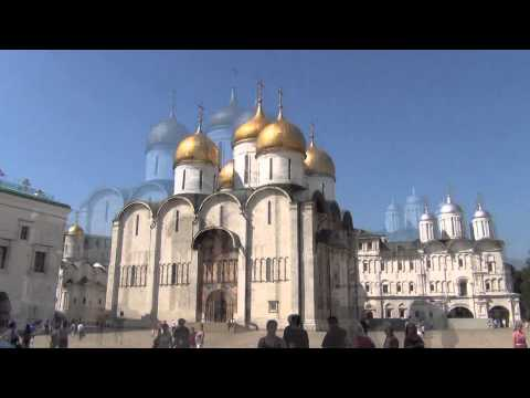 Moscow Kremlin Cathedral Square part 1