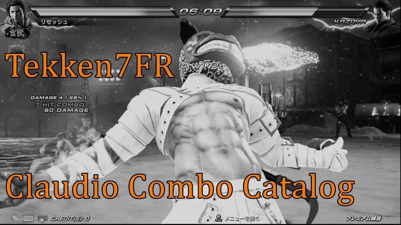 Claudio Serafino - Combo Thread - Tekken Zaibatsu Forums