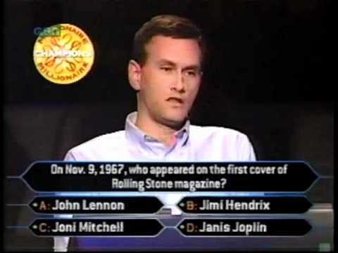 David Forman on Champions Who Wants to be a Millionaire part