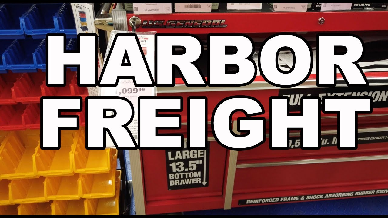 Harbor Freight In Store Tour