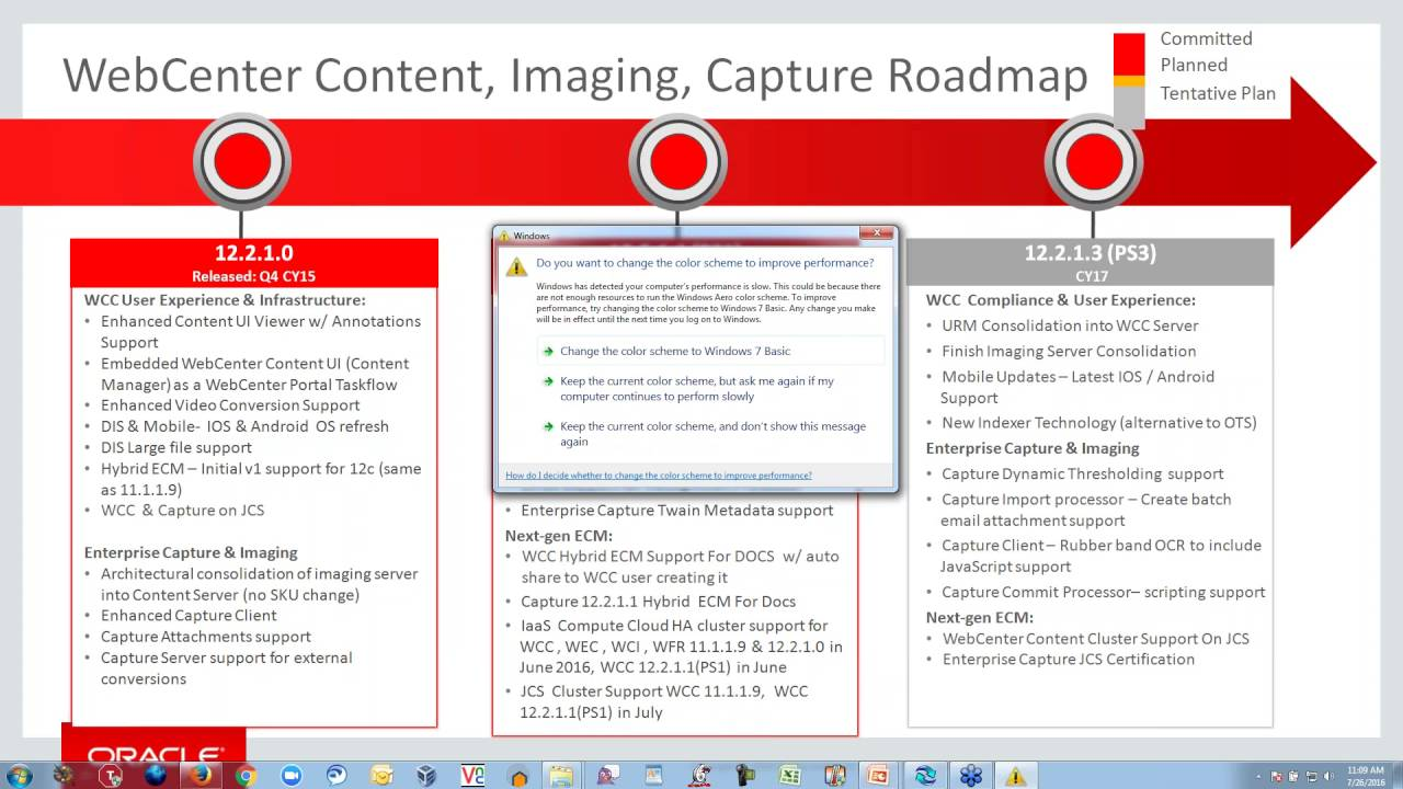 Oracle webcenter content and imaging product roadmap review oracle webcenter content and imaging product roadmap review webcenter sig webcast xflitez Image collections