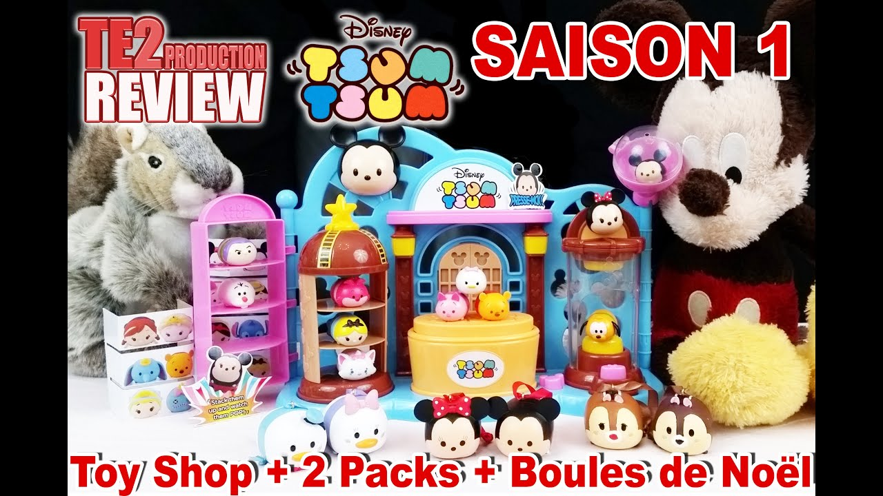 review disney tsum tsum toy shop figurines saison 1. Black Bedroom Furniture Sets. Home Design Ideas