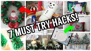 7 Dollar Tree Christmas Hacks You NEED to Try