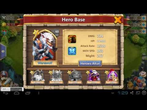 Castle Clash Guild Tier 1 Boss Battle Hit & Run Tactic!
