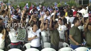 Cuba  World leaders join huge crowds at Castro memorial rally