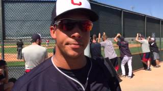 Michael Brantley after his first game.