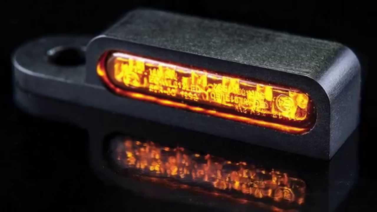 HeinzBikes LED Lenker Armaturen Blinker für Harley Davidson ...