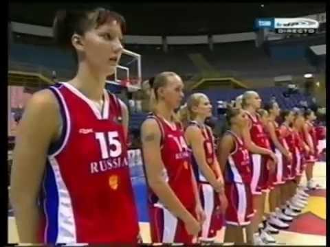 World Championship for Women 2006. Quarter-Finals. Spain - Russia