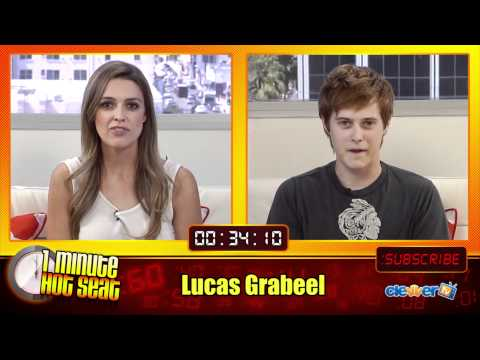 1 Minute Hot Seat - Lucas Grabeel In The Hot Seat