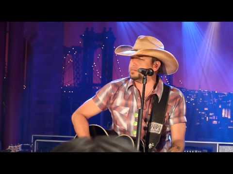 Wheels a Rollin' - Jason Aldean on Live on Letterman