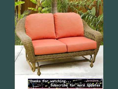 Wicker Gliders | Wicker Furniture Ideas