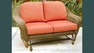 Wicker Gliders Wicker Furniture Ideas