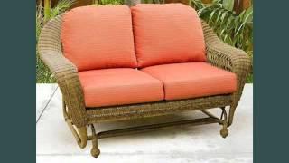 Wicker Gliders Wicker Furniture Ideas