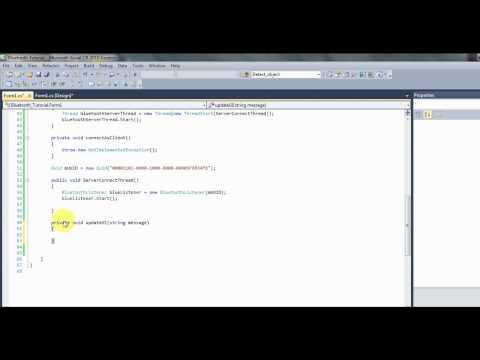 C# bluetooth tutorial 2