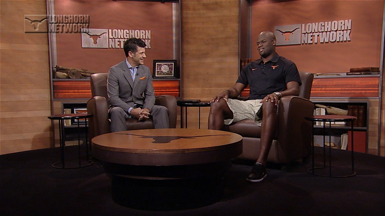Vince Young visits Longhorn Network [June 23, 2014] - YouTube