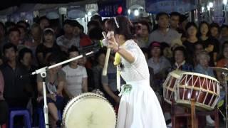 아름이 품바/사주팔자~신명나는 연주 어께춤이 절로 나는 17.7.28삼천포