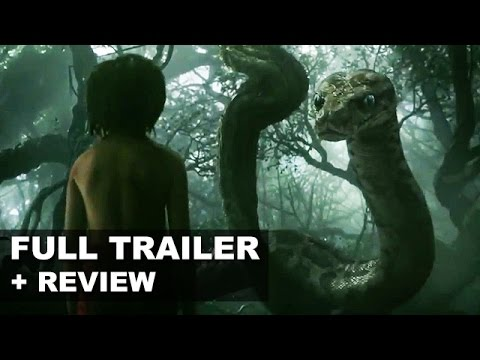 The Jungle Book 2016 Official Teaser Trailer + Trailer Review : Beyond The Trailer