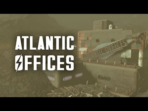 The Secret of the Atlantic Offices in the Glowing Sea - Fallout 4 Cut Content & Lore