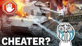 CHEATER NA Waffenträger auf E 100? - World of Tanks