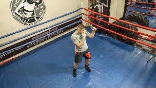 Передвижения в боксе - Как стать боксером за 10 уроков #3