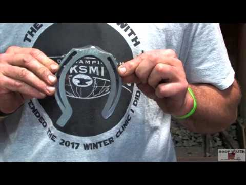 World Championship Blacksmiths - Craig Trnka, CJF Clipped Hind Diamond Toe