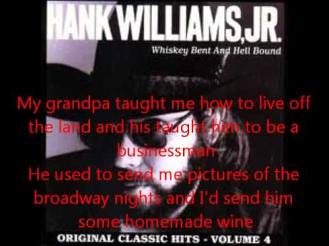 Hank Williams-Country Boy Can Survive(With Lyrics)