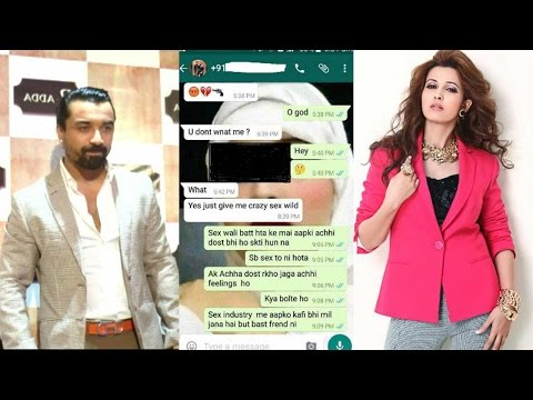 Ajaz Khan sends vulgar messages to Aishwarya, FIR filed | Filmibeat