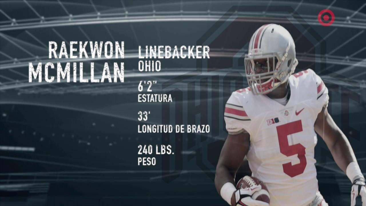 Raekwon McMillan Rumbo Al Draft NFL 2017