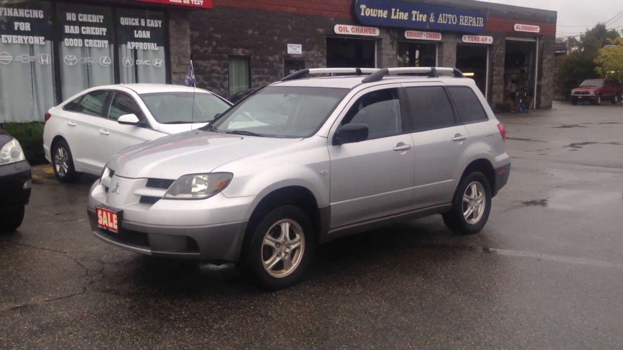 2003 Mitsubishi Outlander LS~AWD~Clean+Affordable+Great in the SNOW!**