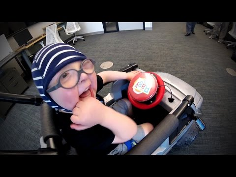 Wright State engineers help 2-year-old to Go Baby, Go!
