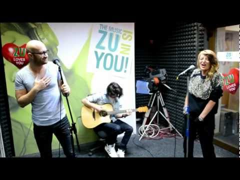 Delia si Mihai Bendeac - Doi in unu (Live la Radio ZU)